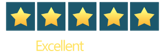 We're rated 5 stars on Trustpilot